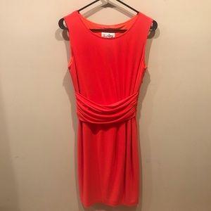 Joseph Ribkoff Sleeveless Red dress size 6